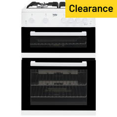 Beko KDG611W Gas Cooker - White