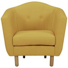 Argos Home Elin Fabric Armchair - Yellow