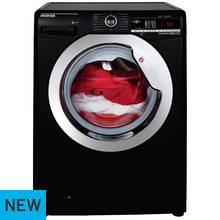 Hoover DXOA410C3B 10KG 1400 Spin Washing Machine - Black