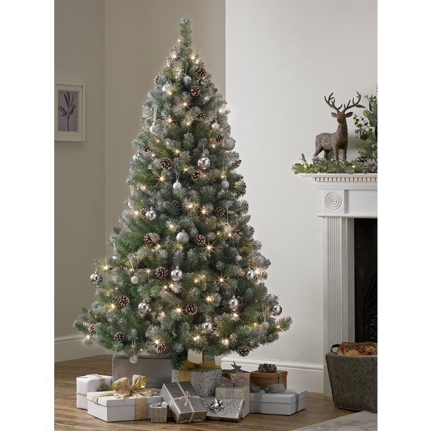 factory price 7b922 b954d Buy Argos Home 6ft Oscar Pre-lit Christmas Tree - Green | Artificial  Christmas trees | Argos