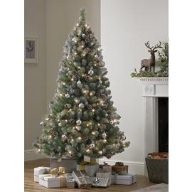 Argos Home 6ft Oscar Pre-lit Christmas Tree - Green