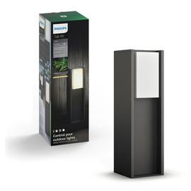 Philips Turaco Hue Outdoor Wall Lantern - Anthracite