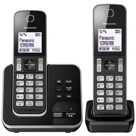 Panasonic Cordless Telephone with Answering Machine - Twin