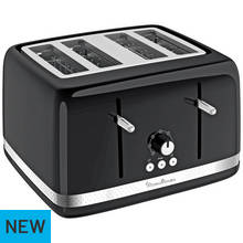 Moulinex 4 Slice Toaster - Black