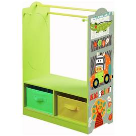 Liberty House Safari Dress Up Centre with Storage Bins