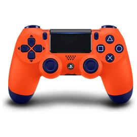 PS4 DualShock 4 Wireless Controller - Sunset Orange