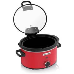 Crock-Pot 3.5L Hinged Slow Cooker - Red