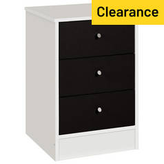 Argos Home Malibu 3 Drawer Bedside Chest