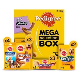 Pedigree Variety Box Adult Medium Dog Treats 12 Packs