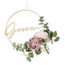 Groom Floral Wreath
