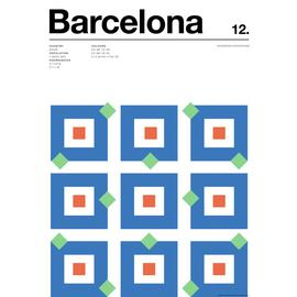 East End Prints Nick Barclay Barcelona Print Poster Wall Art