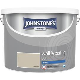 Johnstone's Wall & Ceiling Paint Matt 10L - Seashell