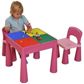 Liberty House Pink Activity Table & Chair Set