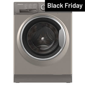 Hotpoint NM10844GS 8KG 1400 Spin Washing Machine - Graphite