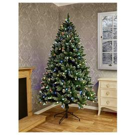 Premier Decorations 7ft Rockingham Christmas Tree - Green
