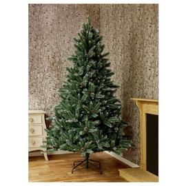 Premier Decorations 7ft Selwood Pine Christmas Tree - Green