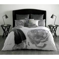 Karl Lagerfeld Profile Pair of Square Pillowcases