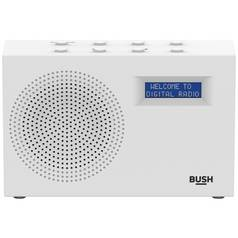 Bush Compact DAB/FM Radio – White