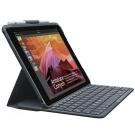 Logitech Slim Folio Tablet Case with Keyboard - Black
