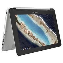 ASUS C101 Flip 10.1 Inch 4GB 16GB 2-in-1 Chromebook - Silver