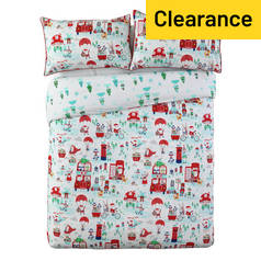 Argos Home Santa's Friend Bedding Set - Double