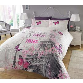 Argos Home Paris Romance Bedding Set - Single