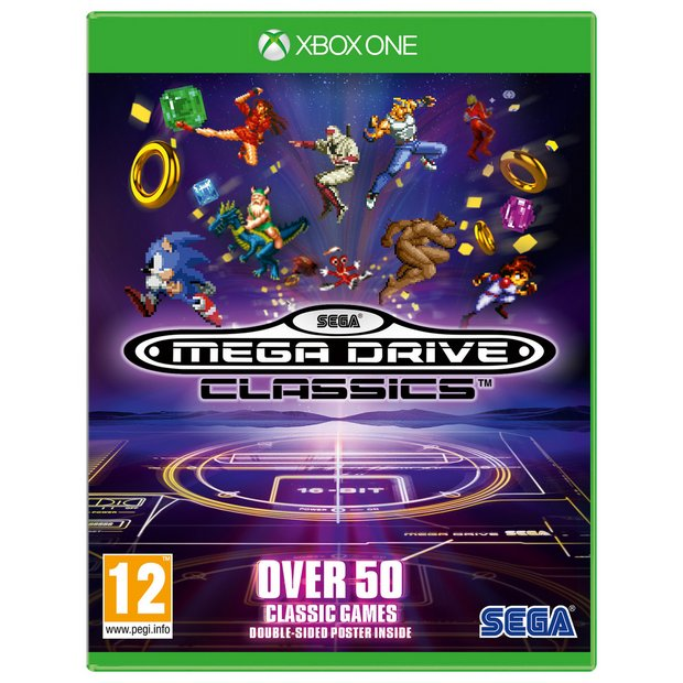 Buy SEGA Mega Drive Classics Xbox One Game | Retro gaming consoles | Argos