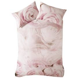 Karl Lagerfeld Rana Rose Pink Bedding Set - Double