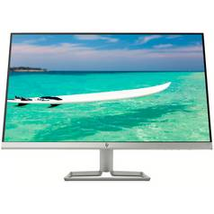 HP 27f 27 Inch FHD Ultraslim IPS Monitor - Silver/Black