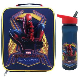 Spiderman Far Away Lunch Bag & Bottle Set