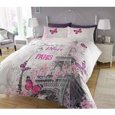 Argos Home Paris Romance Bedding Set - Double
