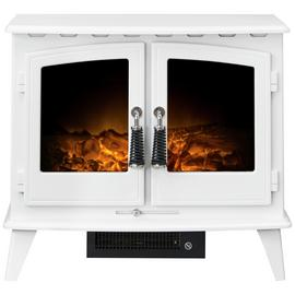 Adam Woodhouse 2kW Electric Freestanding Stove - White