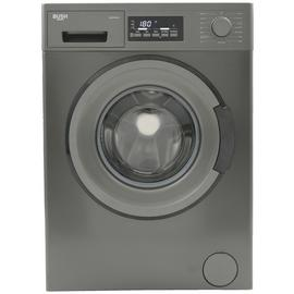 Bush WMDFXINX 8KG 1400 Washing Machine - Dark Inox