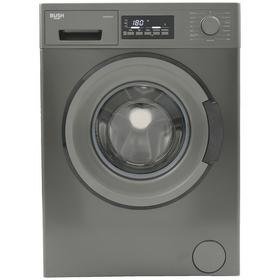 Bush WMDFXINX 8KG 1400 Washing Machine - Dark Inox Best Price, Cheapest Prices