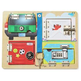 Melissa & Doug Locks and Latches Board
