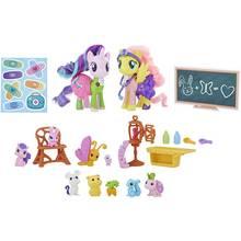 My Little Pony Fluttershy & Starlight Glimmer Pet Care Class
