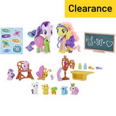 c4d8cc22d02 My Little Pony Fluttershy   Starlight Glimmer Pet Care Class