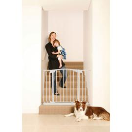 Dreambaby Chelsea Xtra-Wide Hallway Security Gate – White