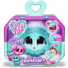 Scruff a Luvs Aqua Mystery Rescue Pet Soft Toy