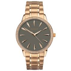 Seksy Ladies' Rose Gold Plated Grey Dial Bracelet Watch