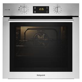 Hotpoint FA4S544IXH Built In Single Steam Oven - Silver