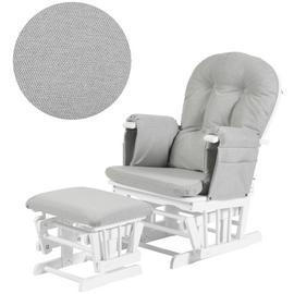 Enjoyable Buy Tutti Bambini Gc35 Glider Chair White Nursing Chairs Creativecarmelina Interior Chair Design Creativecarmelinacom