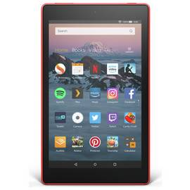 5fef5072407158 Amazon Fire HD 8 Alexa 8 Inch 32GB Tablet - Punch Red