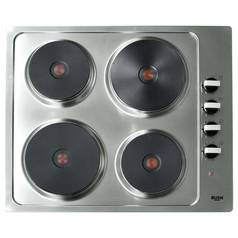 Bush RL60SPH Solid Plate Electric Hob - Stainless Steel