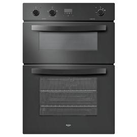 Bush LSBBDFO Built In Double Electric Oven - Black