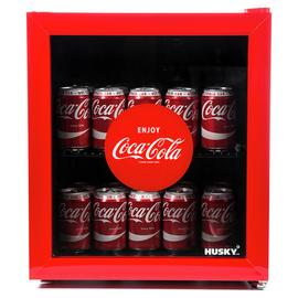 Husky Coca-Cola 46 Litre Drinks Cooler - Red