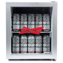 Husky Budweiser 46 Litre Drinks Cooler - Silver
