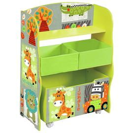 Liberty House Safari Storage Shelf & Toy Box