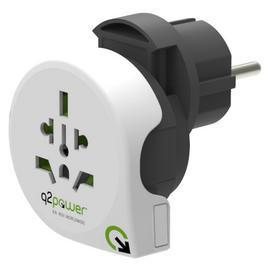 Q2Power 3-in-1 World Travel Adapter