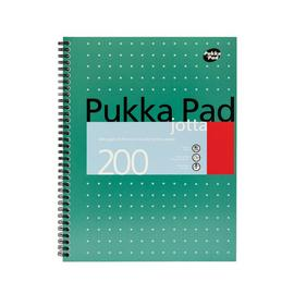 Pukka Pad A4 Metallic Jotta Notepad - Pack of 3